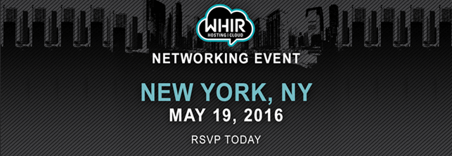 WHIR Networking Event | New York, New York |  May 19th