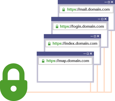 Multi Sub-Domain SSL